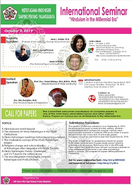 International Seminar IAHN-TP Palangka Raya